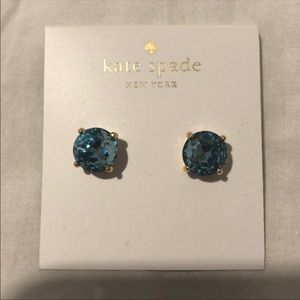 Kate Spade Blue diamond Studs